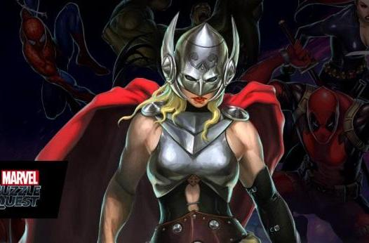 Marvel Puzzle Quest is first game to include female Thor