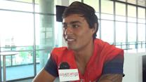 Anu Solomon at Arizona media day