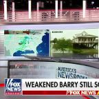 Louisiana water levels remain high as weakened Barry moves north