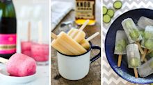 Boozy ice lolly recipes to try this summer