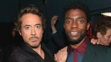 Angelina Jolie, Robert Downey Jr. and more honor Chadwick Boseman during ABC tribute