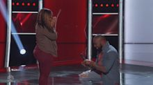 A bumpy night: Marriage proposal on 'The Voice' turns awkward