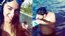 Anitta mostra o marido nas redes sociais: 'Bofe escândalo'