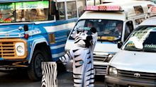 Why Bolivia is using animal onesies to tackle the problem of road deaths