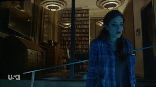 Carly Chaikin as Darlene in USA's Mr. Robot. (Credit: USA Network )