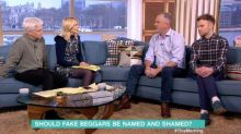 This Morning viewers blast vigilante guest for bullying homeless people