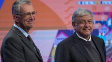 Salinas Pliego, Hank González, Larrea, Miguel Alemán, los empresarios que acompañan a AMLO a EU