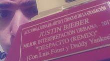 El Latin Grammy de Justin Bieber fue enviado a otro por error