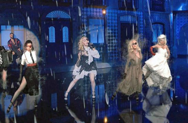 How augmented reality put five Madonnas on stage at once