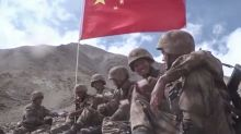 PLA troops eat mooncakes and tell Chinese not to worry in message from Indian border