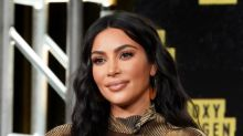 Close-up photo of Kim Kardashian West's skin goes viral on Reddit