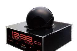 The Giovannoni TimeSphere projecting alarm clock