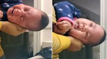 Parents need to see this parenting hack to get a crying baby to sleep in seconds