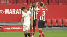 Sevilla's title hopes hit by late win for Athletic Bilbao