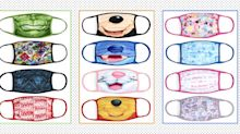 Disney launches cloth face coverings which feature favourite Pixar, Marvel and Star Wars characters