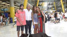 Lara Álvarez es muy bien recibida tras su regreso de Honduras