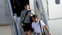 Raw: Teams Arrive in Brazil for World Cup