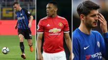 Gossip: Man Utd 'offer Martial for Perisic', Juventus 'make £15m Morata bid', Atletico 'target Aguero', everyone loves Jorginho
