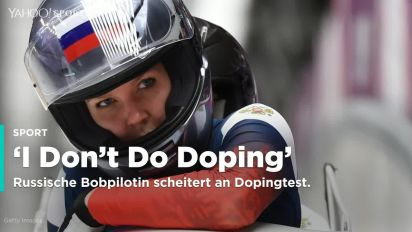 """I don't do doping"" - russische Bobpilotin überführt"