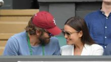 Bradley Cooper e Irina Shayk, de lo más cariñosos en las gradas de Wimbledon