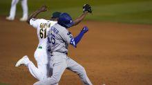 Dodgers' Cody Bellinger still healing hairline leg fracture