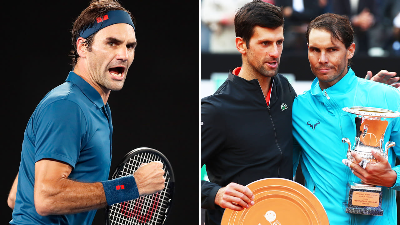 Roger Federer clashes with Nadal and Djokovic over virus plan