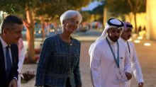 In Riyadh, top central bankers unsettled by shifting sands of inflation
