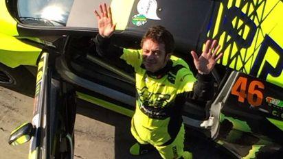 Valentino Rossi, possibile ritorno al Monza Rally