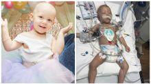 Two-year-old girl fighting for her life after being diagnosed with ovarian cancer