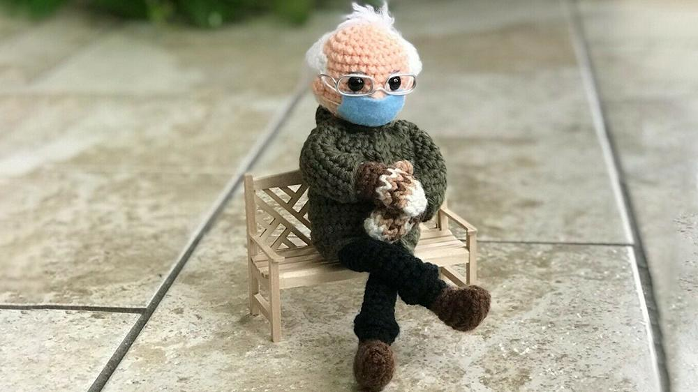 More Than A Meme An Artist Made A Bernie Sanders Inauguration Doll And Bids Are Now Above 17 000 A meme was born on wednesday when bernie sanders took. yahoo finance