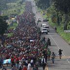 Migrant caravan of 7,000 continues through Mexico toward US