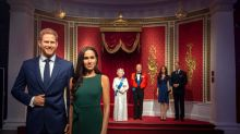 Prince Harry and Meghan Markle are already separated from the royals at Madame Tussauds London