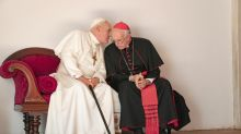 First look: Sir Anthony Hopkins and Jonathan Pryce are 'The Two Popes'