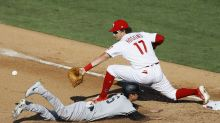Visiting Phils beat Yankees 11-7 at home to open twin bill