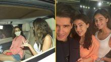 Pics: Sara, Ananya, Manish Malhotra Attend KJo's Party