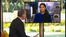 BBC apologises after Andrew Marr accuses Priti Patel of laughing