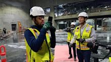 In Warriors' new arena, big corporate partners will help make technology the star