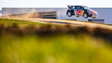 Rallycross at Silverstone: Scared witless in a race car that leaves F1 in the shade ... and flies