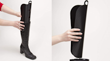These $10 boot shapers are an inexpensive way to make your boots last longer