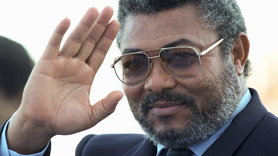 Jerry Rawlings: Ghana's ex-president dies aged 73