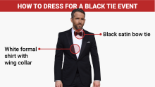 This is the only correct way for men to dress for a black tie event like the Oscars