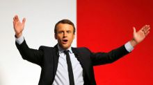 "France's Macron urges ""morally weak"" rivals to unite against Le Pen"