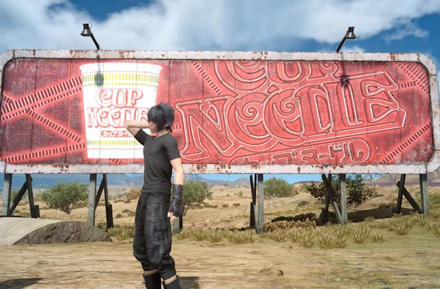 'Final Fantasy XV' tricked me into buying Cup Noodles