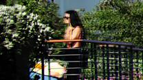 Demi Moore a Rocks Bikini at Harry Morton's Family House