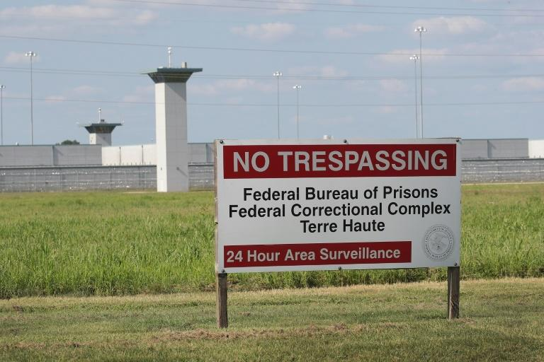Terre Haute prison, where the first federal executions since 2003 were carried out (AFP Photo/SCOTT OLSON)