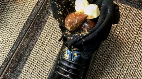 Netanyahu's Chef Blasted For Serving Japan's Prime Minister Dessert In A Shoe