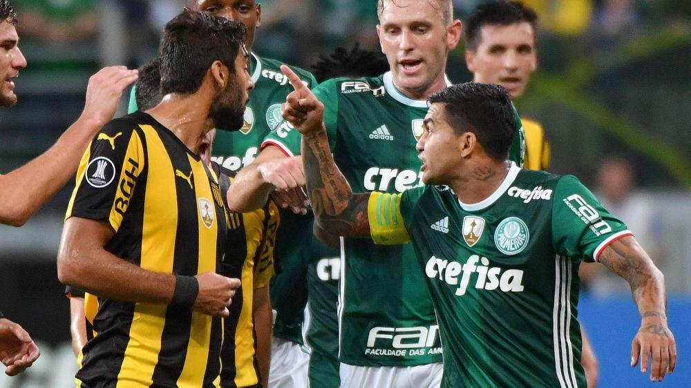 Os jogadores mais violentos da Copa Libertadores 2017