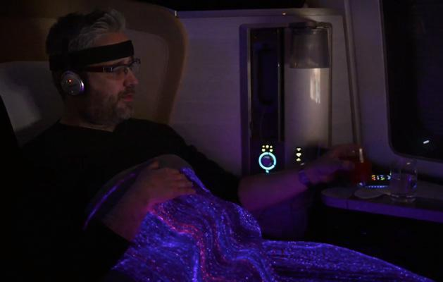 British Airways needed a mood-sensing blanket to prove life is better in First Class