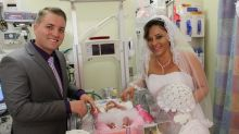 This Couple Got Married in the NICU So Their Premature Daughter Could Be Part of Wedding