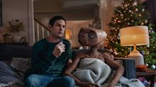 E.T. reunites with Elliott, but sadly it's just for an advert